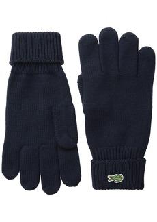 Lacoste Men's Classic Wool Gloves