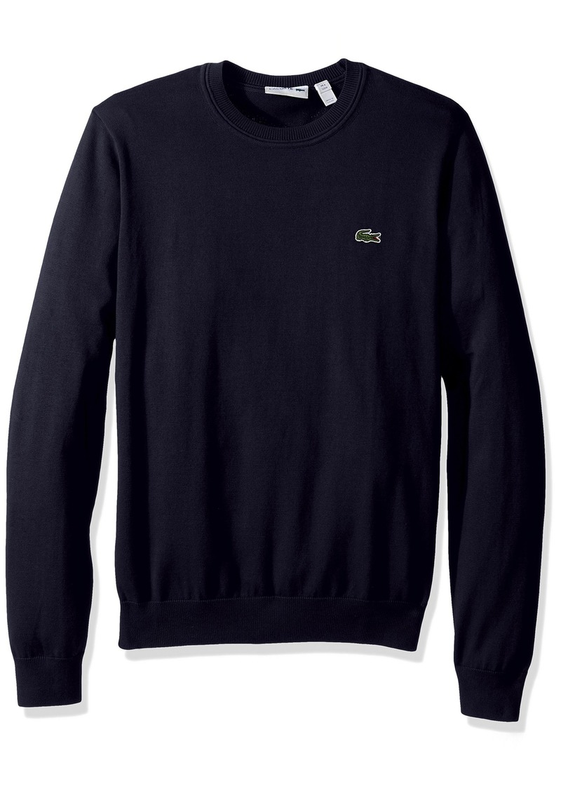 Lacoste Men's Cotton Jersey Crew Neck Sweater AH7901-51