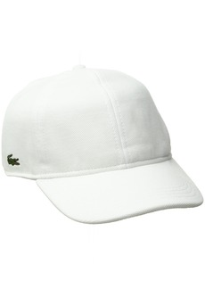 Lacoste Men's Cotton Pique Cap  L