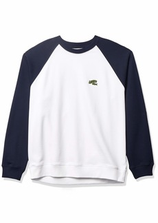 Lacoste Men's Croc Animation Crewneck Sweatshirt  M