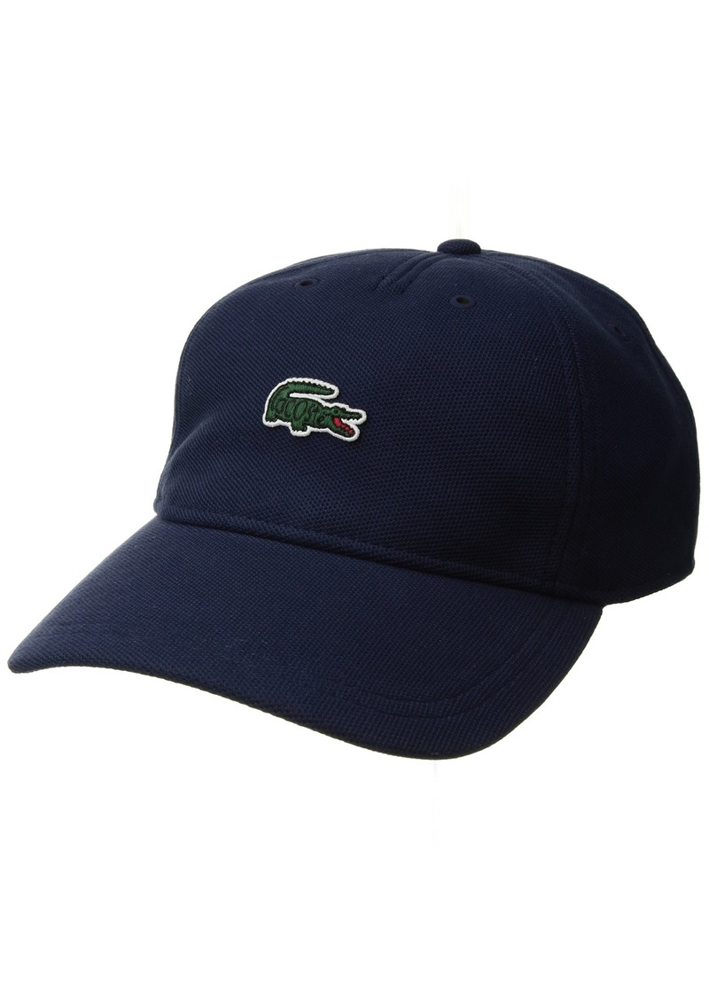 7e3b57238f881 On Sale today! Lacoste Lacoste Men s Croc Patch Pique Strapback Cap