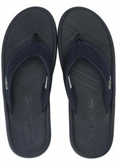 Lacoste Men's Croco Sandal   Medium US