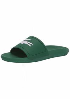 Lacoste Men's Croco Slide Sandal   Medium US