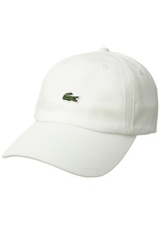 Lacoste Men's Embroidered Crocodile Cotton Cap