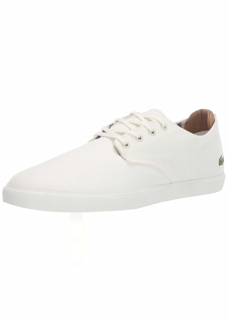 Lacoste Men's ESPARRE Sneaker Off White  Medium US