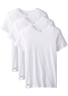 Lacoste Men's  Essentials Cotton Crew Neck T-Shirt   (Pack of 3)