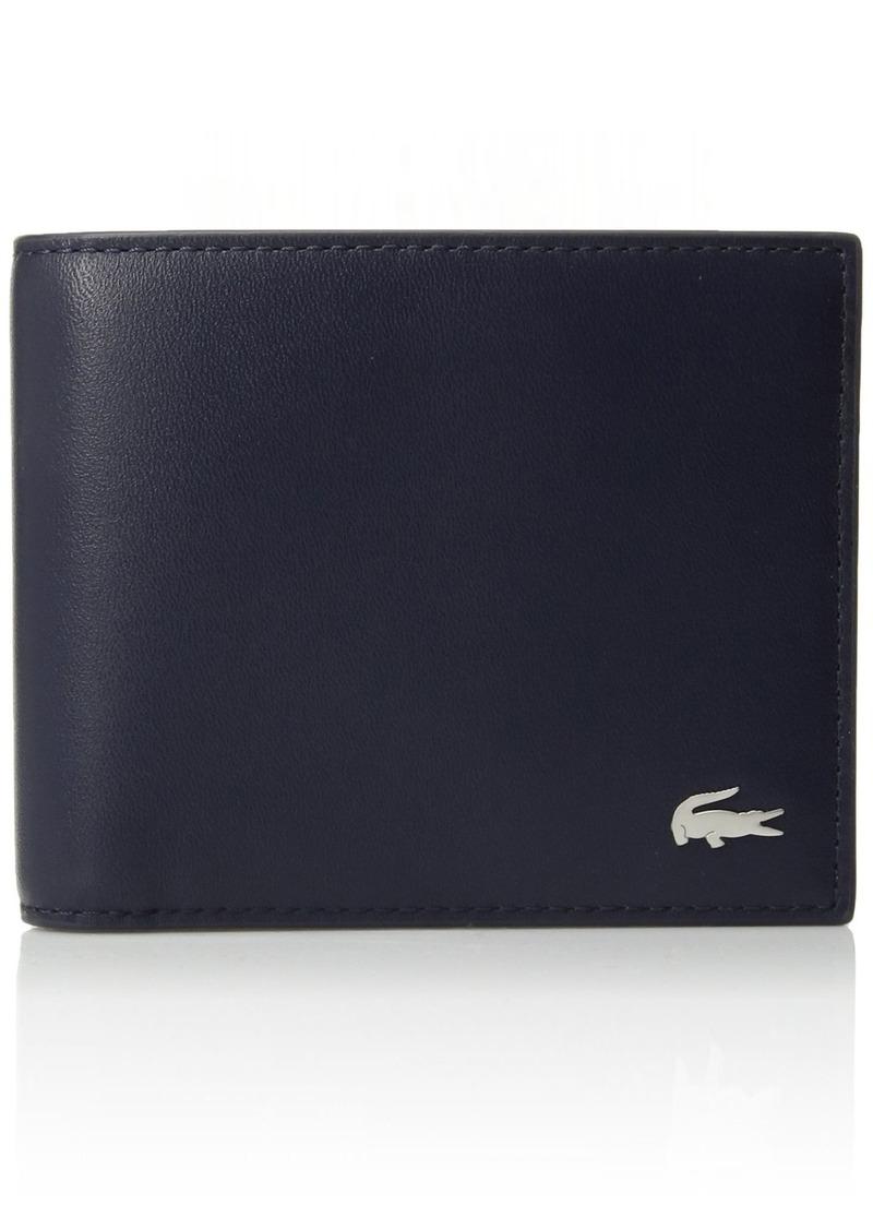 ec0fc38b3745 Lacoste Lacoste Men s Fg Small Billfold Wallet peacoat
