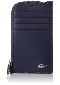Lacoste Men's Fitzgerald Leather Card Holder