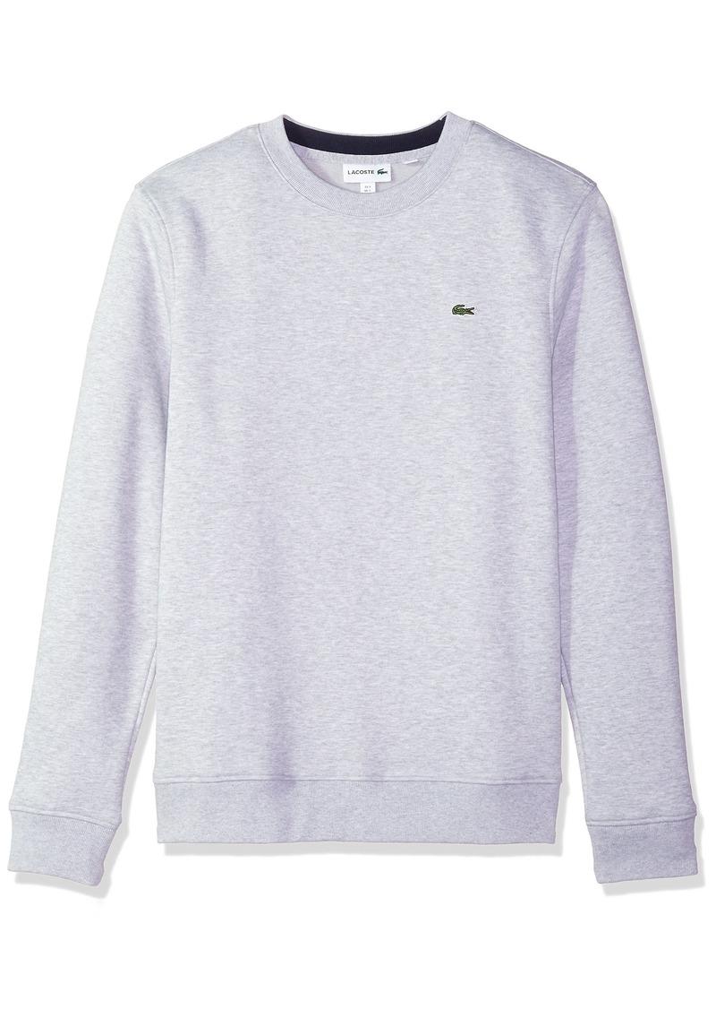Lacoste Men's Fleece Sweatshirt with Green Croc-Contrast Details  4X-Large