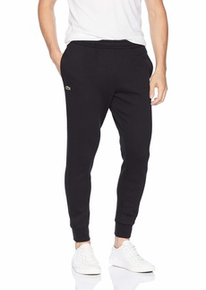 Lacoste Men's Fleece Trackpant with Emrbroidered Croc