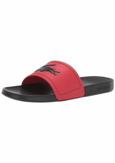 Lacoste Men's Fraisier Slides Sandal   Medium US