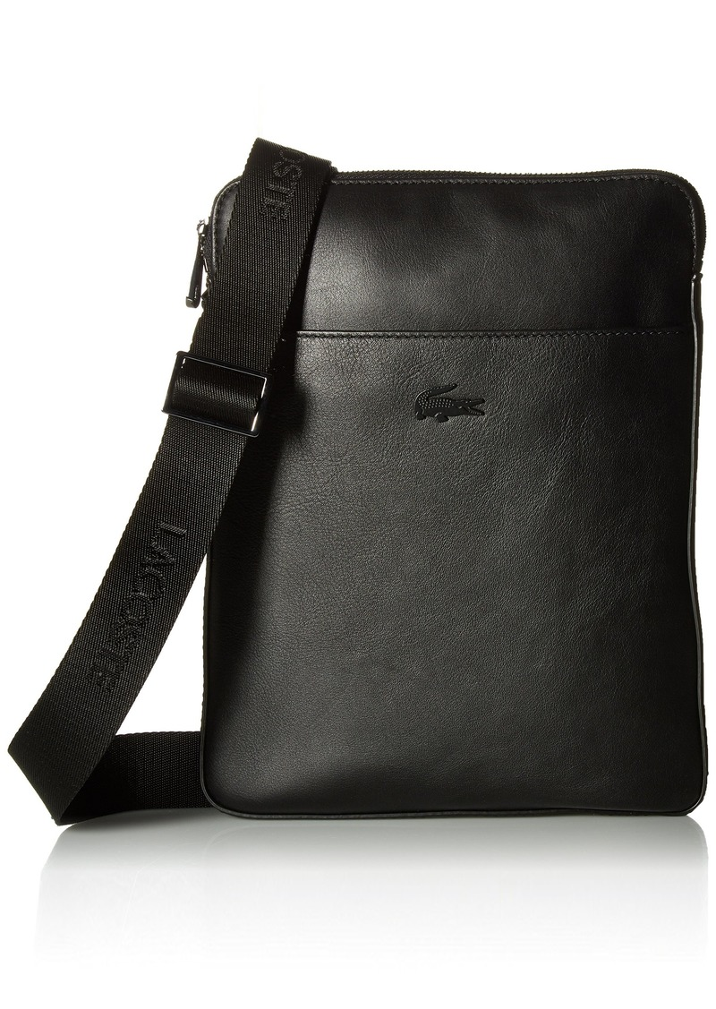 Lacoste Men S Full Ace Flat Crossover Bag