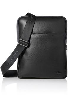 Lacoste Men's Gael Large Flat Crossover Bag