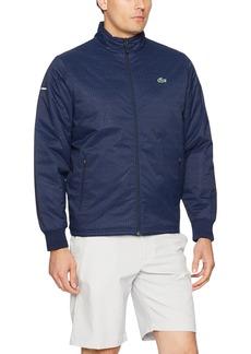 Lacoste Men's Golf Printed Taffeta Jacket  S
