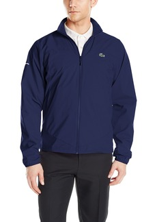 Lacoste Men's Golf Taffeta Jacket BH2132-51 Navy Blue/Navy Blue-White