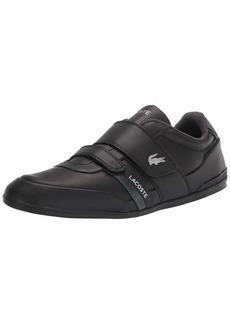Lacoste Men's Misano Strap Sneakers BLK/BLK