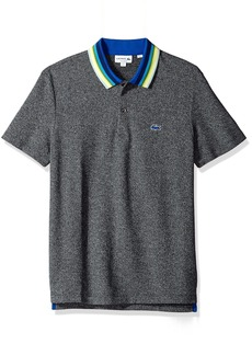 1b33ba45 Lacoste Lacoste Men's Short Sleeve Pima Jersey Interlock Regular Fit ...