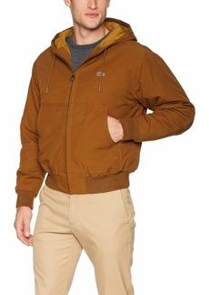 Lacoste Men's Hooded Bomber Jacket