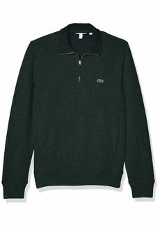 Lacoste Mens Interlock Solid Classic Sweatshirt Sweatshirt  4XL