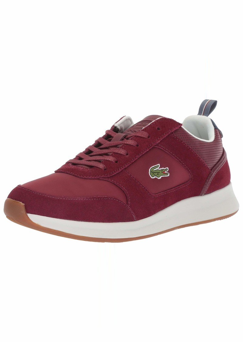 Lacoste Men's Joggeur Sneaker dark red/navy  Medium US