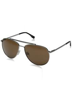 Lacoste Men's L177S Aviator Sunglasses