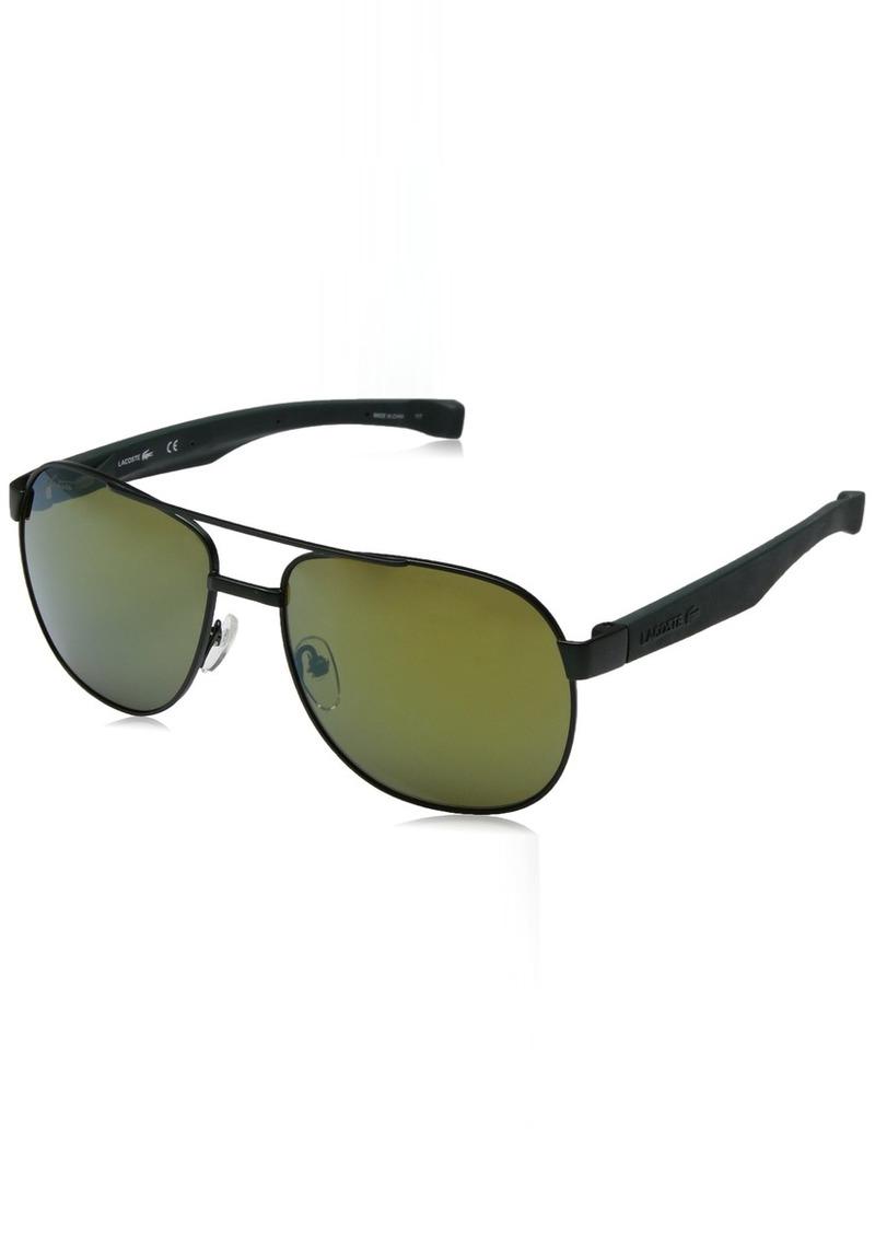 6b168396b Lacoste Lacoste Men's L186s Aviator Sunglasses 57 mm   Sunglasses