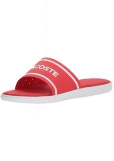 Lacoste Men's L.30 Slide Sandal red  M US