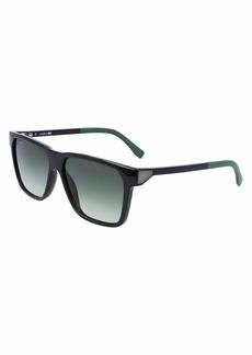 Lacoste Men's L934S-001 Sunglasses BLACK