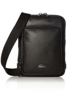 Lacoste Mens Leather Crossover Bag