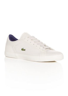 Lacoste Men's Lerond Perforated Leather Lace-Up Sneakers