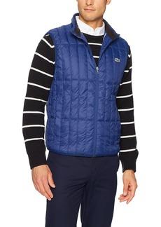 Lacoste Men's Light Down Packable Sleeveless Jacket  L