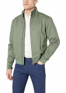 Lacoste Men's Lightweight Harrington Cotton Twill Jacket