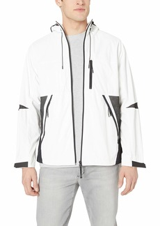 Lacoste Men's Lightweight Short Jacket Mix Fabric