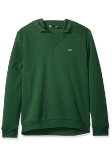 Lacoste Men's Long Sleeve 85th Anni Fleece Sweatshirt SH7302