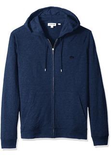 Lacoste Men's Long Sleeve Athleisure Full Zip Hoodie Sweatshirt SH3305