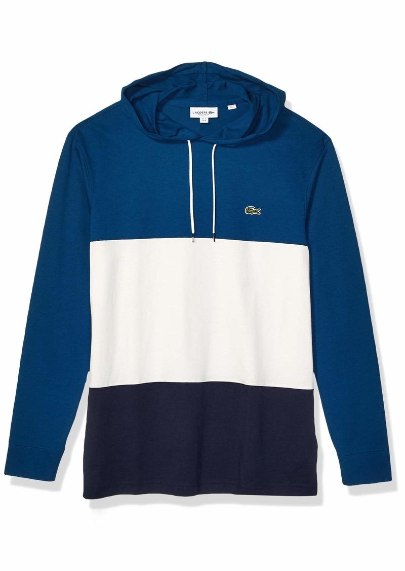 Lacoste Men's Long Sleeve Colorblock Jersey TEE Shirt  XL