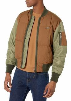 Lacoste Men's Long Sleeve Colorblocked Twill Bomber Jacket  M/L