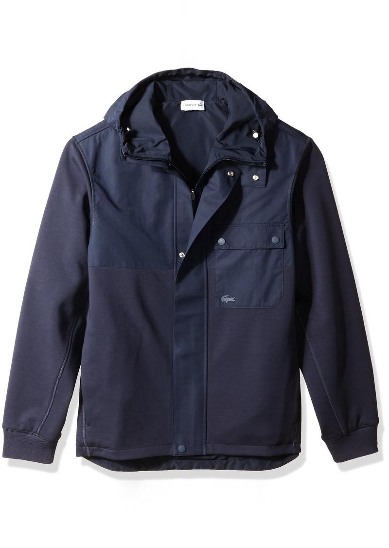 Lacoste Men's Long Sleeve Double Face Jersey Hoodie Sweatshirt SH4721