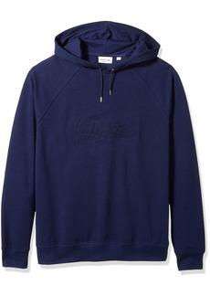 Lacoste Men's Long Sleeve Embroidered Hoodie Sweatshirt SH6781