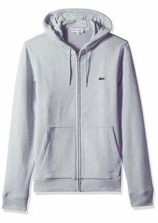 Lacoste Men's Long Sleeve French Terry Sweatshirt W/Hoodie Front Pockets  4X-Large