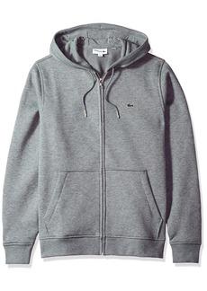Lacoste Men's Long Sleeve Full Zip Hoodie Sweatshirt SH3294
