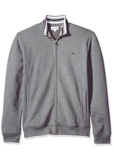 Lacoste Men's Long Sleeve Full Zip Pique Fleece Sweatshirt SH3292