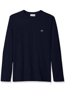 Lacoste Men's Long Sleeve Jersey Pima Regular Fit Crewneck T-Shirt TH6712-51