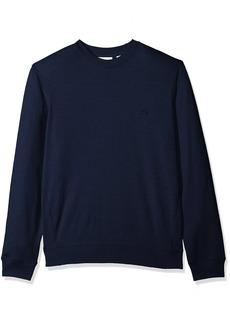 Lacoste Men's Long Sleeve Light French Terry Tonal Croc Sweatshirt SH3298