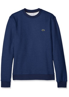 Lacoste Men's Long Sleeve Mille-Raye Crew Neck Sweatshirt SH3296  4X-Large