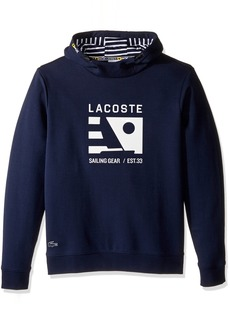 Lacoste Men's Long Sleeve Nautical Logo Hoody SH9600-51