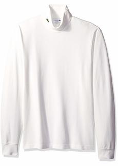 Lacoste Men's Long Sleeve Reg Fit Pique Grand Froid Turtleneck