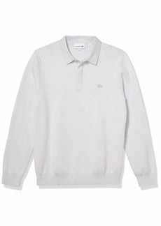 Lacoste Men's Long Sleeve Regular Fit Classic Stitch Sweater  M