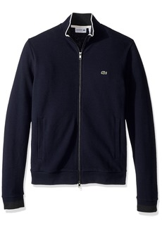 Lacoste Men's Long Sleeve Semi-Fancy Pique Full-Zip SH9592-51  3XL