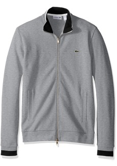 Lacoste Men's Long Sleeve Semi-Fancy Pique Full-Zip SH9592-51